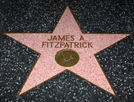 On Hollywood's Walk of Fame, you'll now know who Fitzpatrick is when you see his star.